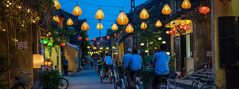 Aftentur i Hoi An