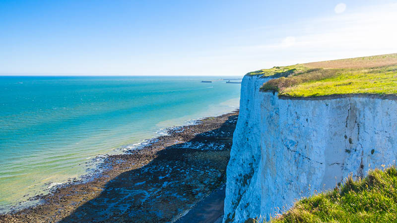 The White Cliffs, England
