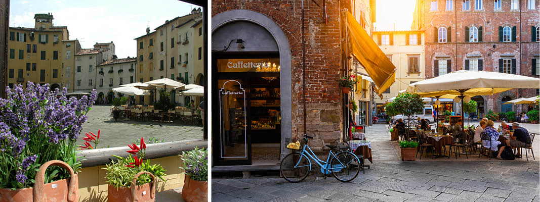 Charmerende Lucca, Italien