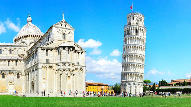 Det skæve tårn i Pisa