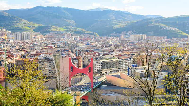 Det specielle Guggenheim-museum i Bilbao