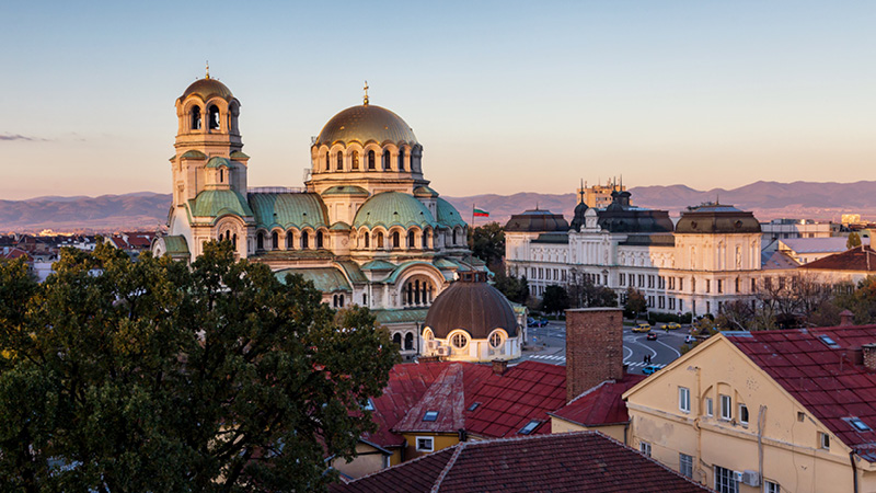 Aleksander Nevski katedralen i Sofia