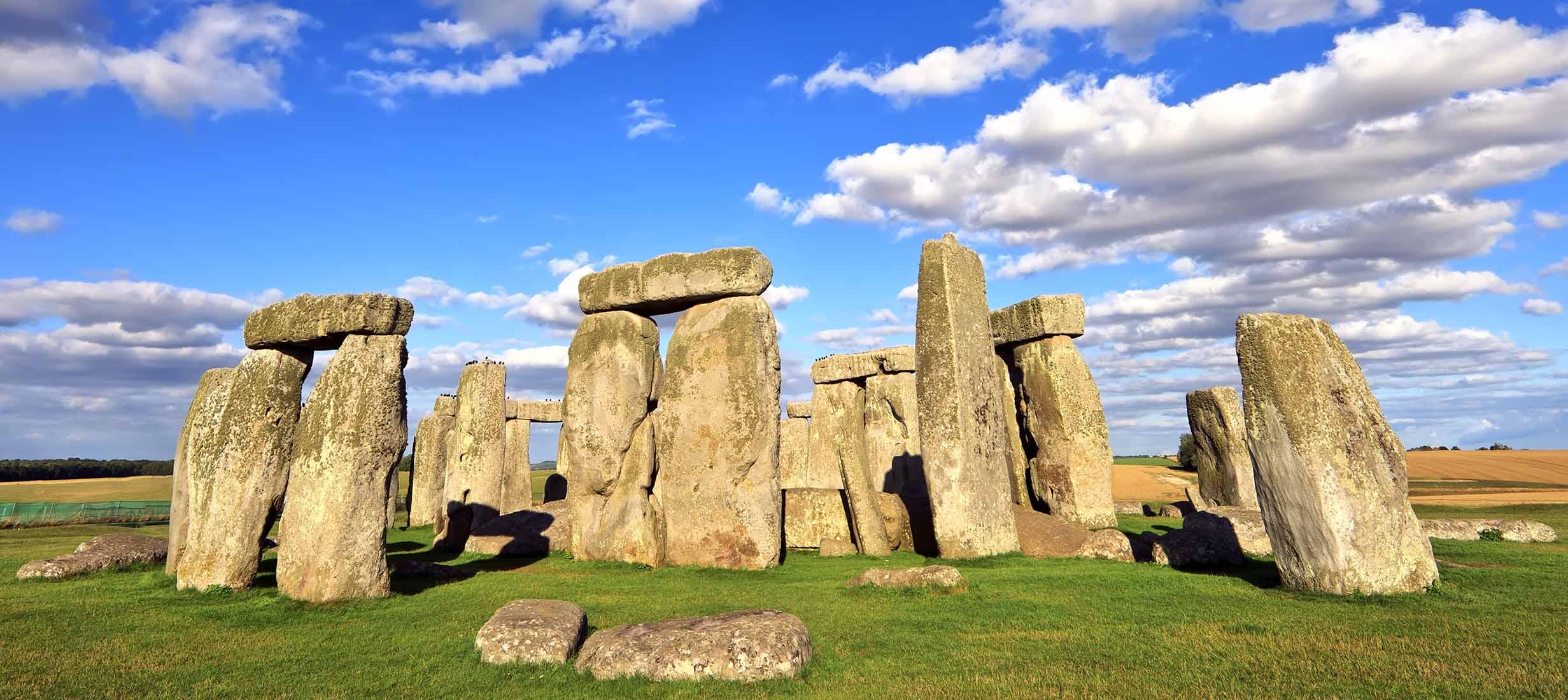 Stonehenge, Rundrejse i Sydengland