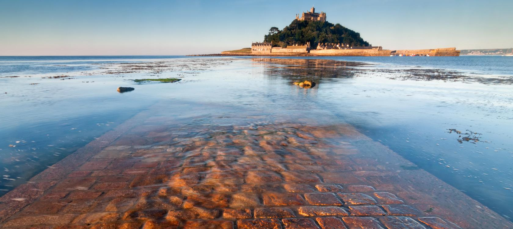 St. Michaels Mount i Sydengland
