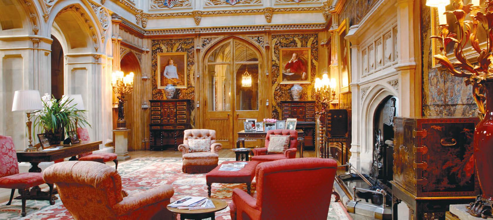 Rundrejse i England med besøg på Downton Abbey