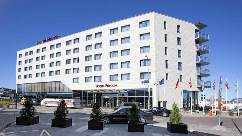 Hestia Hotel Euroopa set udefra
