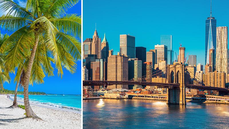 Luksuskrydstogt over Atlanten - USA, Bermuda & Bahamas