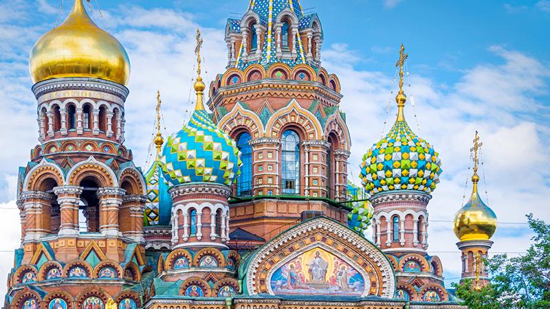 Skt. Petersborg - Ruslands kulturhovedstad