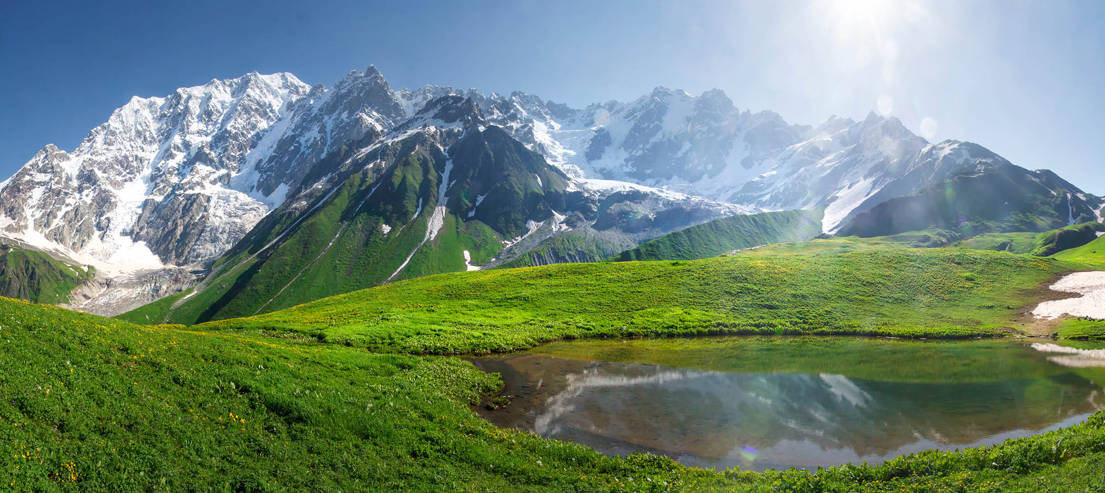 Kaukasus - fantastisk natur