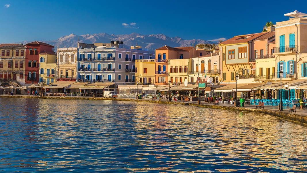 Havnen i Chania, Kreta