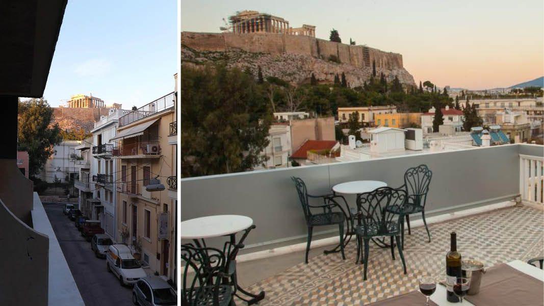 Hotel Acropolis view