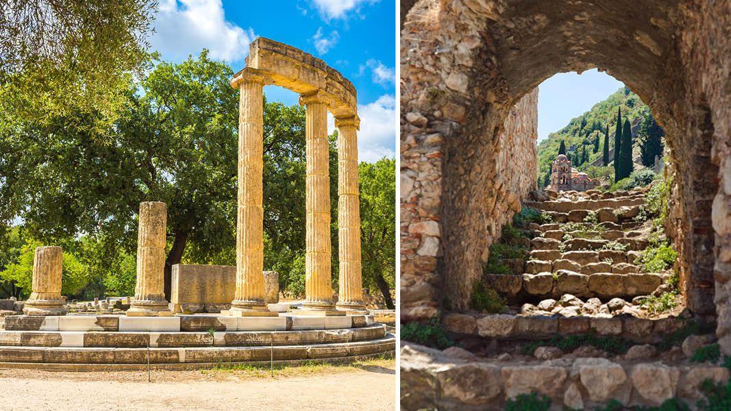 Historisk rejse til Grækenland