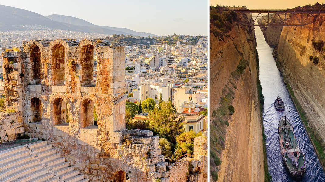 Klassiske kulturrejse til Peloponnes i Grækenland