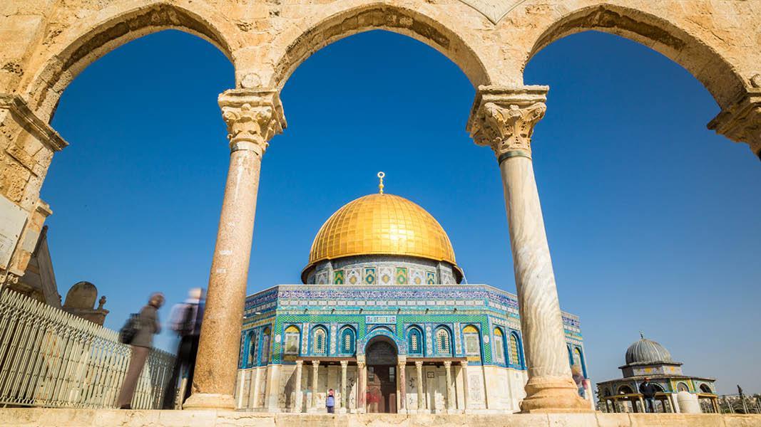 Israel ferie, Israel rejse, jerusalem, alaqsa moske, søjler