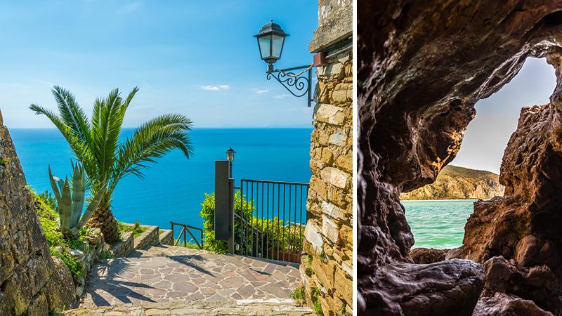 Smukke udsigter fra Cilento
