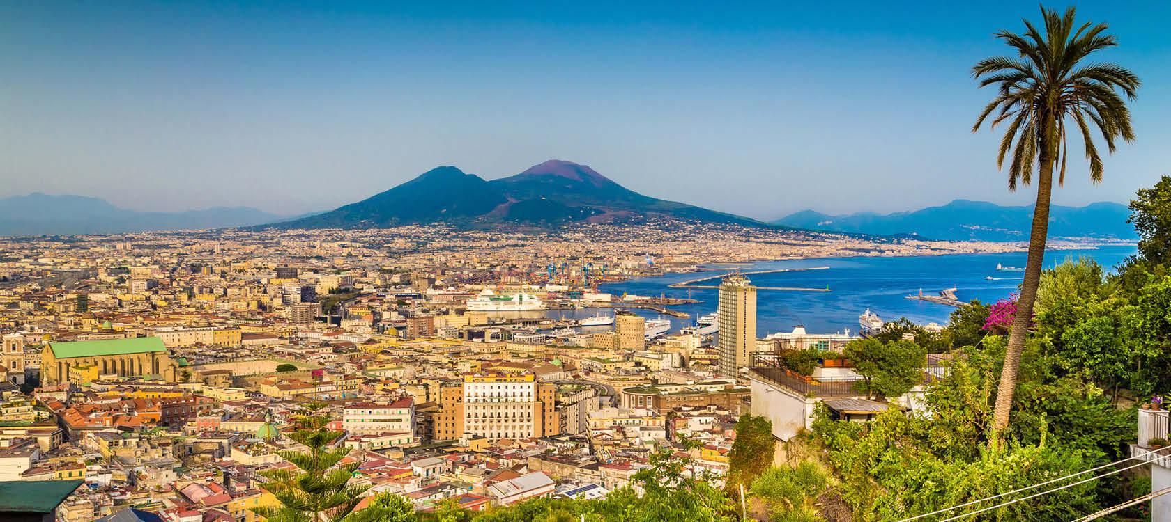 Napoli og Vesuv