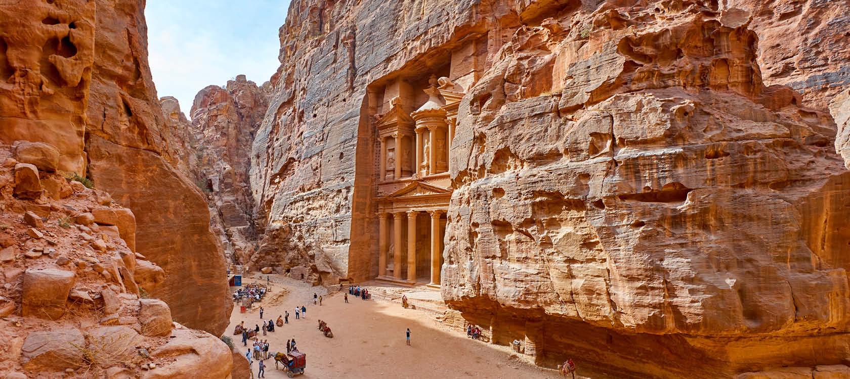 Petra i Jordan