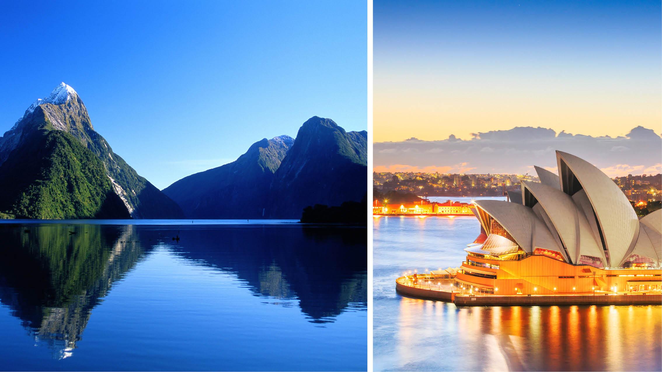Krydstogtrejse til New Zealand og Australien