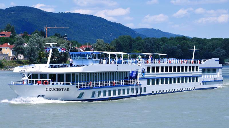 MS Crucestar, Donau