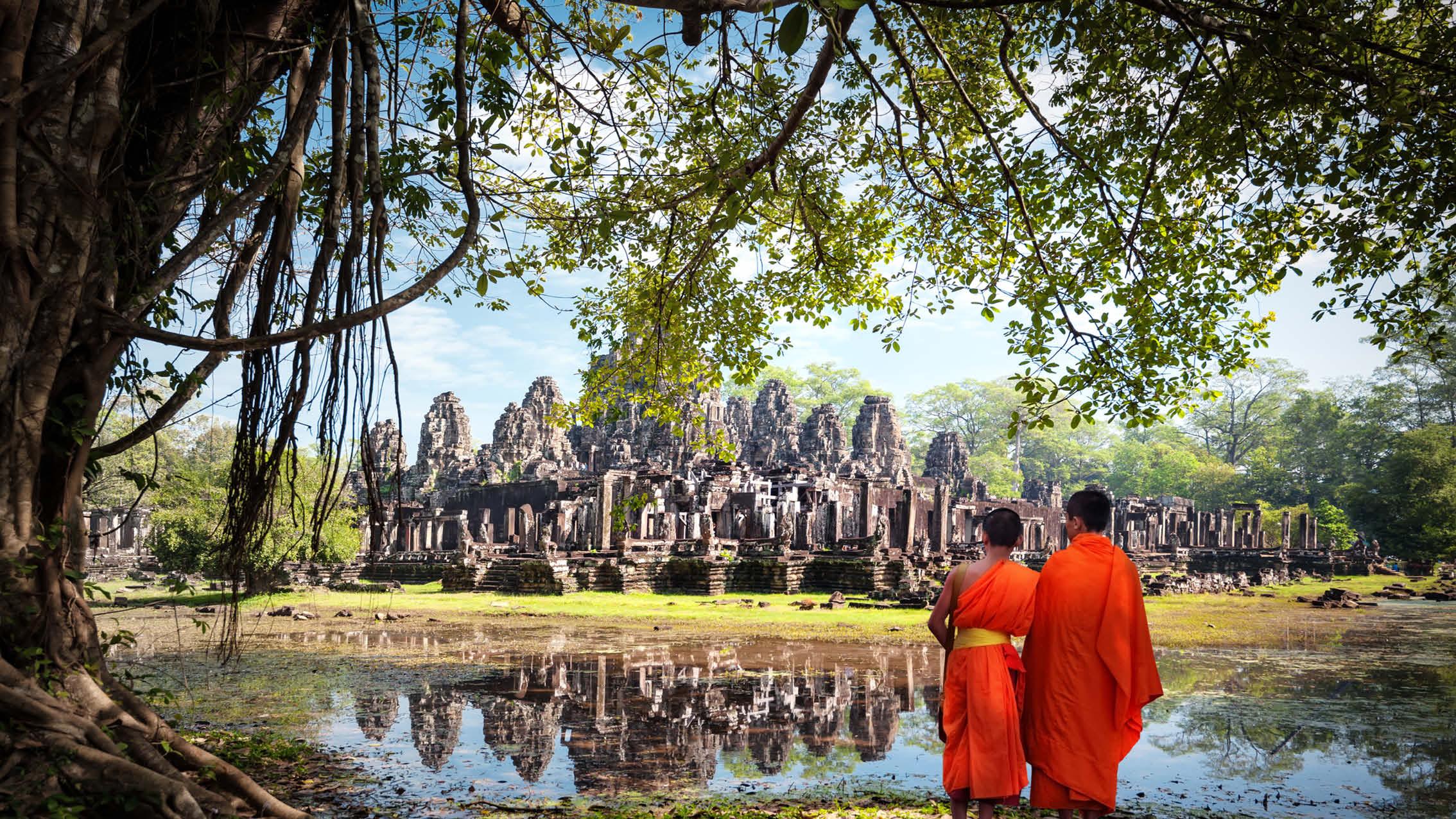 Cambodia, Flodkrydstogt på Mekongfloden
