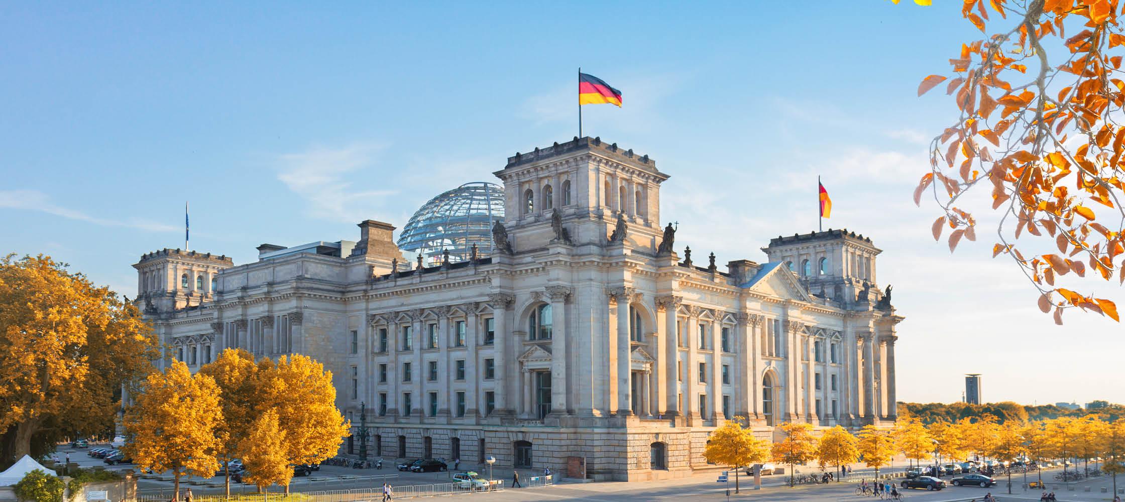 Forbundsdagen i Berlin, Tyskland