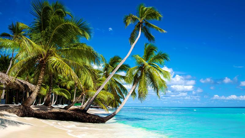 Nyd strandene på Caribien