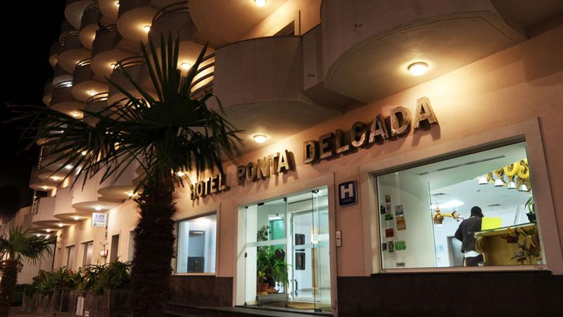 indgang på Hotel Ponta Delgada