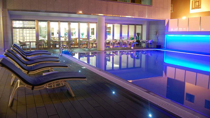 Pool på Hotel Dona Ines