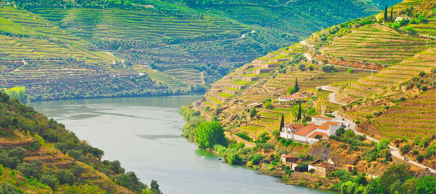 Douro-floden i Nordportugal