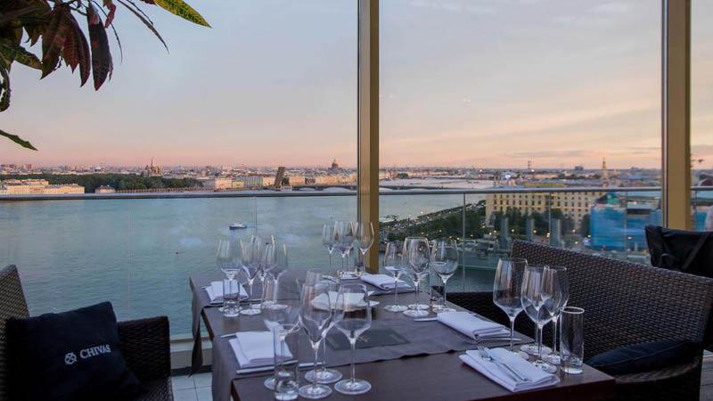 Restaurant Saint Petersburg Hotel Rusland