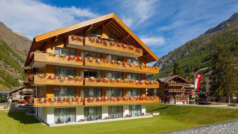 Hotel Tascherhof er beliggende i skønne omgivelser