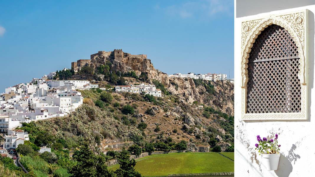 Salobreña med den gamle borg