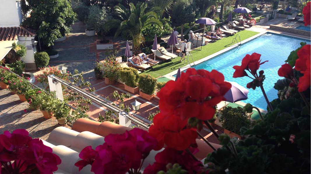 Udsigt på Hotel Alcadima, Sydspanien