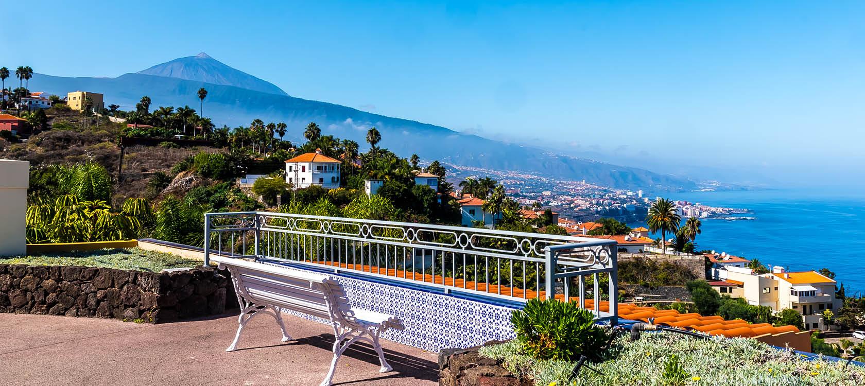 Nyd de fantastiske udsigter på Tenerife