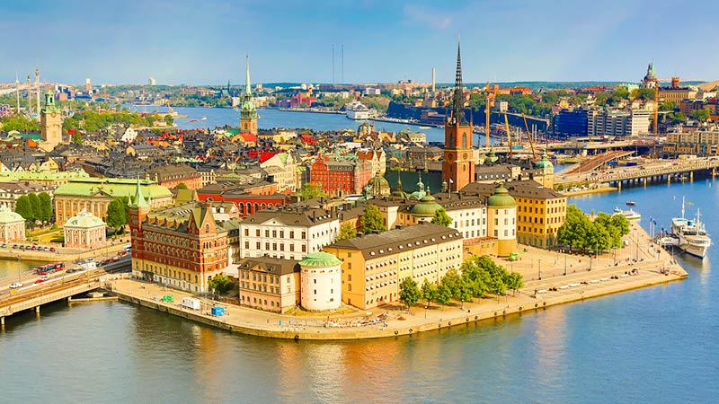 Havnefronten i Stockholm