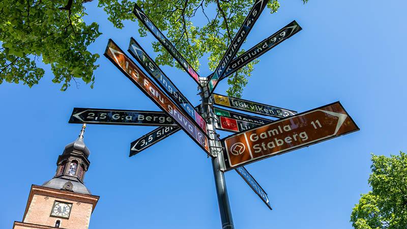 Gamla Staberg er kun 11 km væk