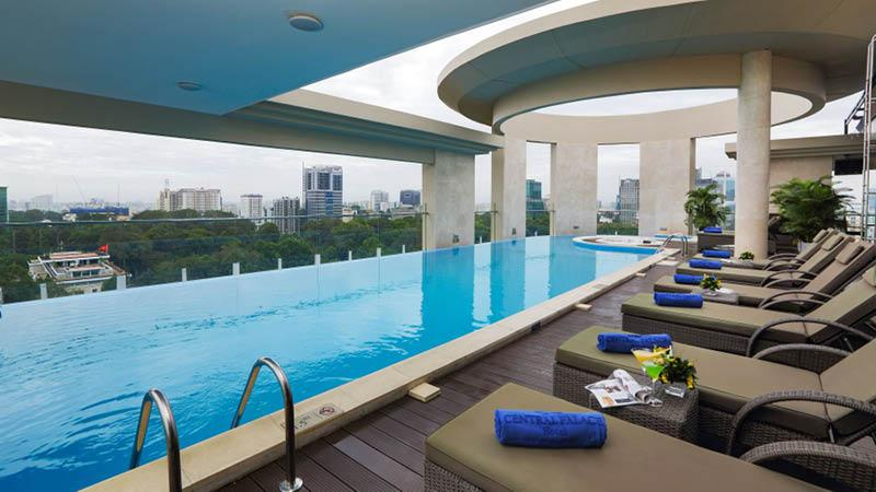 pool central palace hotel ho chi minh city