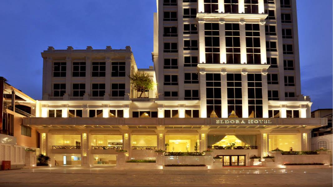 Eldora Hotel udefra