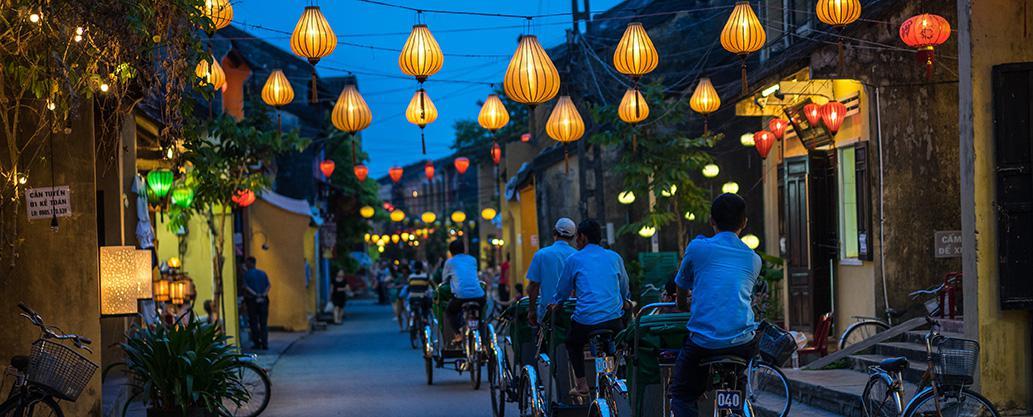 Rejs til Hoi An og Vietnam